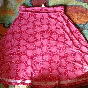 Lularoe size small swing skirt